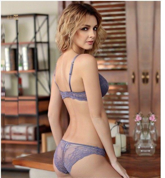 3b811bd789 Sexy Women Hot Seamless Bra Set 3 4 Cup adjustable Push up Vs Bra Lingerie