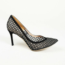 Valentino Crystal Suede Pointed Pumps SZ 39.5 - $260.00