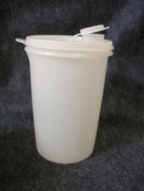 Tupperware 321 Sheer Round Canister  with Sheer Pour Seal # 563 - $8.09