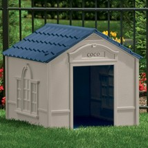 Large Outdoor Dog House Removable Roof Easy To Clean Ergonomic Design Wa... - $108.36