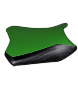 2013-17 Ninja 300 Black Widow Front Motorcycle Seat Cover AS Lime Green/... - $55.00