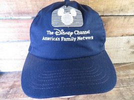 DISNEY CHANNEL America's Family Network Vintage Adjustable Adult Cap Hat - $24.74