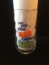 """Set of 3 Vintage 90s Diet Pepsi """"You Got the right one baby"""" Promo Tumblers image 3"""