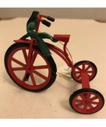 VintageChristmas Bike Ornament - $6.93