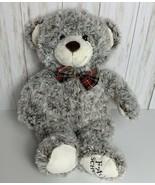 """F.A.O. Schwarz Teddy Bear 18"""" Plush Stuffed Animal Brown/Wh Mix Curly Fu... - $11.63"""