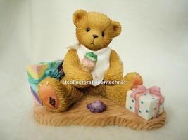 Cherished Teddies Carlton Hurray It's Your Birthday 2000 NIB - $36.58