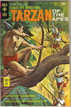 Tarzan Comic Book #191, Gold Key Comics 1970 VERY FINE- - $16.39