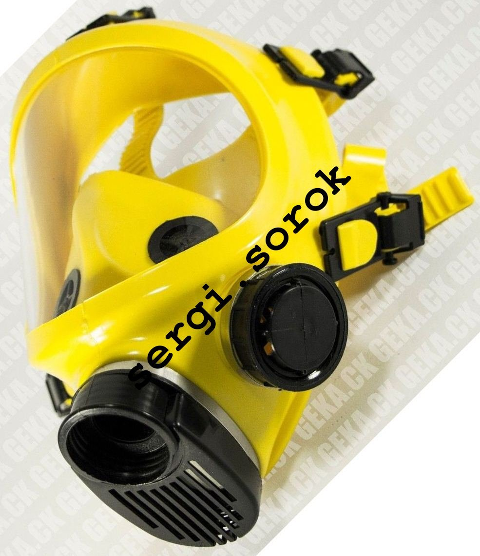 Full Face Yellow Facepiece GENUINE Gas Mask Respirator GP9 BRIZ new only