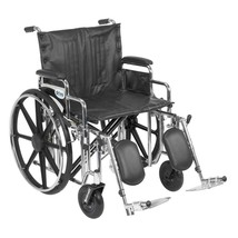 Drive Medical Sentra With Desk Arms and Leg Rests 24'' - $400.93