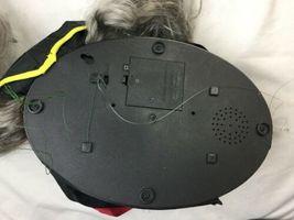 GEMMY ANIMATED HALLOWEEN PIRATE SKELETON TALKING Sensor WALL HEAD Greeter image 6