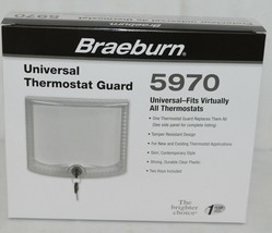 Braeburn Brand Universal Thermostat Guard Fits Virtually All Thermostats image 1