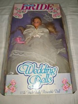 Modern Bride Wedding Bells 11 1/2 Poseable Doll Style 6009 1990 with Box - $396.00