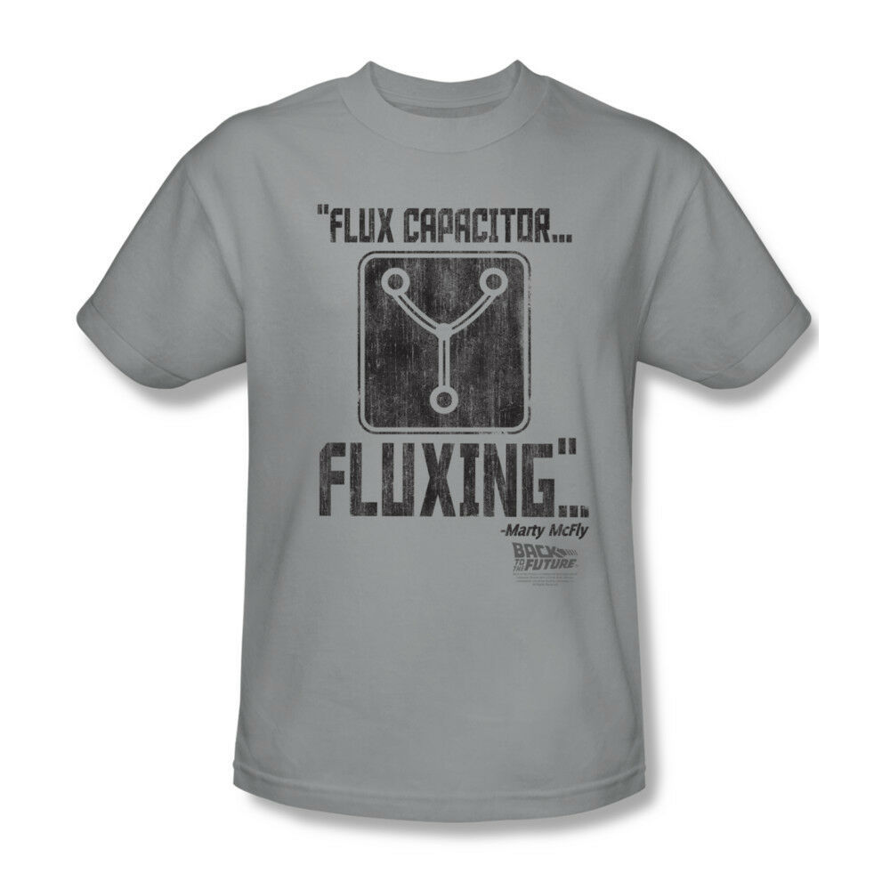Back To Future T shirt Flux Capacitor classic 80's movie 100% cotton tee UNI275