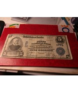 1902 National Currency  $5 Note - $299.99