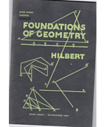 Foundations Of Geometry By Hilbert - $3.75