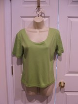 NEW IN PKG OXFORD SPORT  COTTON BLEND  TEE top MADE IN USA  SIZE MEDIUM - $12.86