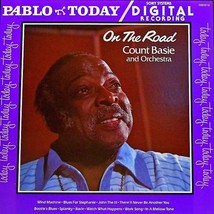 Count Basie and Orchestra: On the Road, 1980 Red Wax Pablo Records Vinyl LP - $10.20