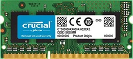 Crucial 4GB Single DDR3 1866 MT/s PC3-14900 204-Pin SODIMM RAM Upgrade f... - $51.54