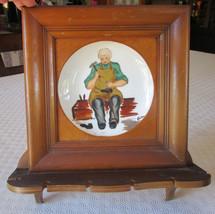 Helene Studios California Pottery Cobbler Plate - Spoon Rack - $18.00