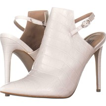 Steve Madden Daily Pointed Toe Pumps 455, White Croco, 9.5 US - £33.57 GBP