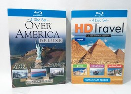 Over American and HD Travel Blu Ray Disc Set  - $31.25
