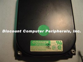 42MB 3.5IN 3H SCSI 50PIN CONNER CP3040A Free USA Ship Our Drives Work