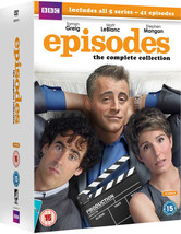 Episodes Complete TV Series 1-5 DVD Matt LeBlanc *REGION 2 PLEASE READ L... - $48.95