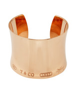 "Tiffany Co. 1837 Rubedo 1.75"" Wide Contour Cuff Bangle Bracelet L2151 - $3,750.00"