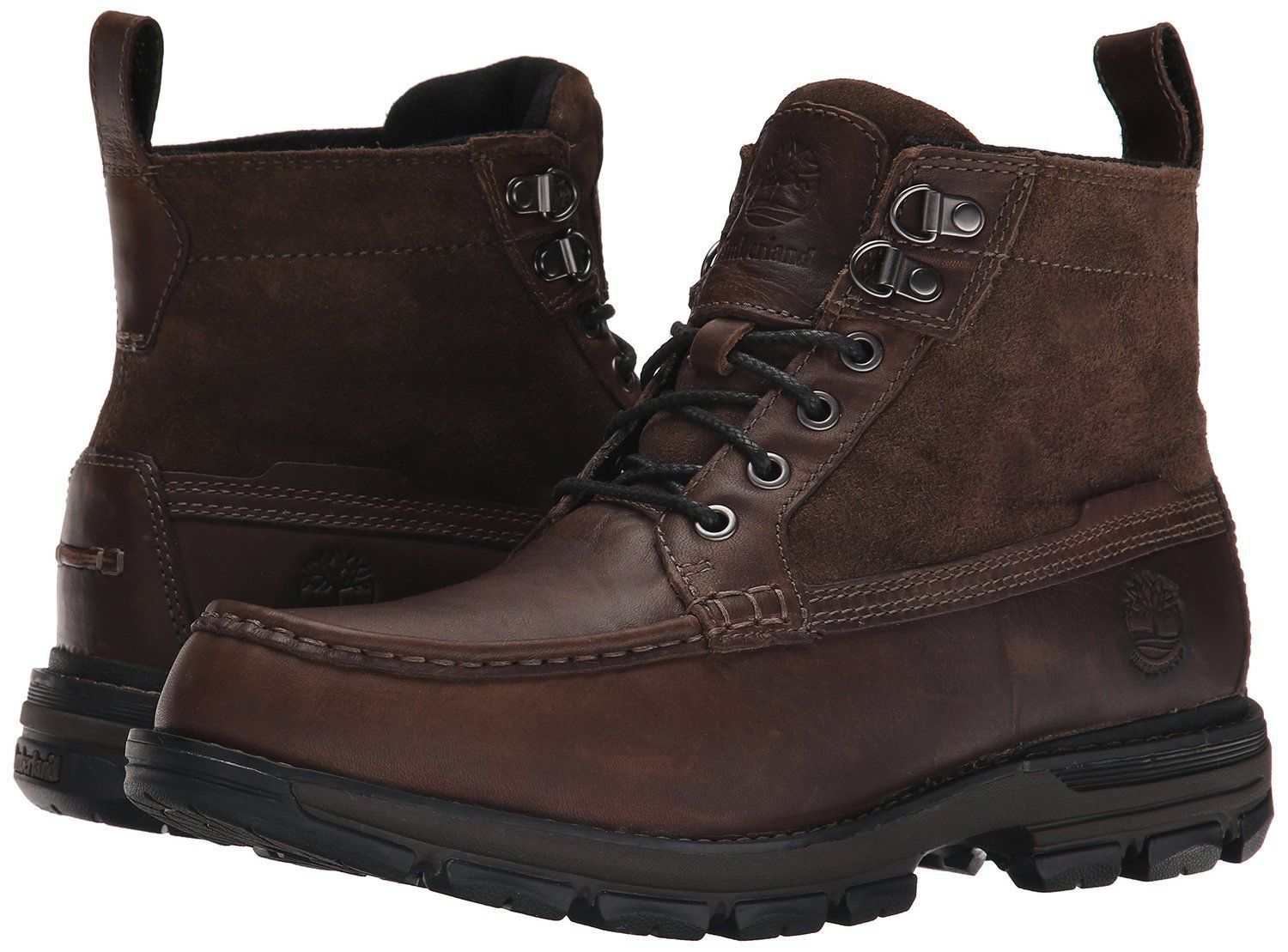 Primary image for Men's Timberland Heston Mid Waterproof Boots, 09756R Dark Brown Size 7.5