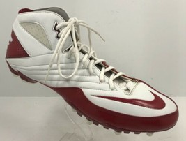 Nike Super Speed TD 3/4 Football Cleats 396254 191 Red/White Size 16 - $28.04