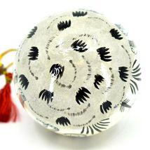 Asha Handicrafts Painted Papier-Mâché Grey Elephant Holiday Christmas Ornament image 5