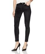 7 For All Mankind Women's The Velvet Ankle Skinny Jeans, Black, 24 - $66.48