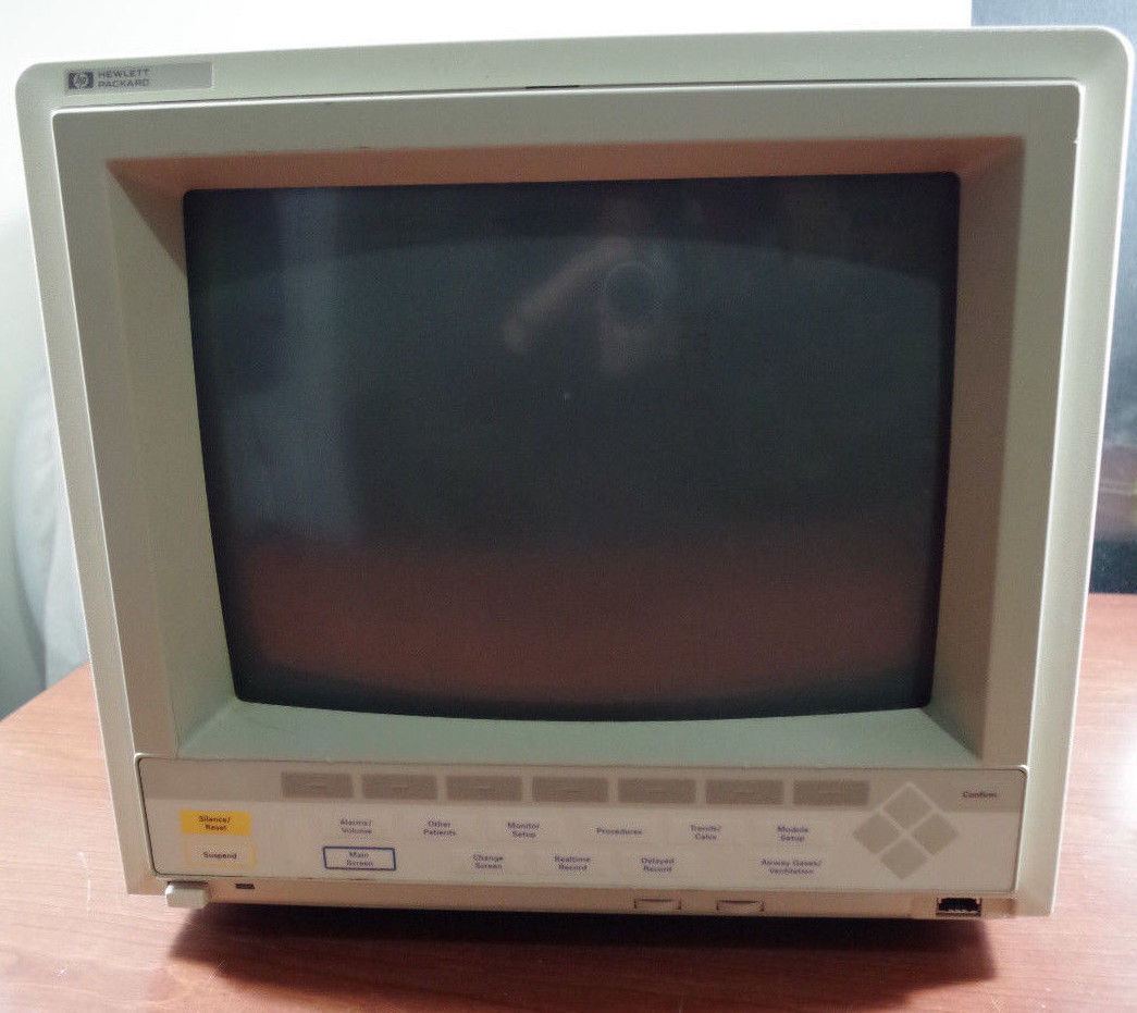 "HP Philips Viridia Agilent 14"" Color Display Medical Patient Monitor M1094B"