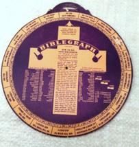 VINTAGE BILLY GRAHAM 1949 NEW YORK CRUSADE BIBLEGRAPH - $19.79
