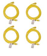 BYBON(4PACK)15ft  Extension Cord SJT 14AWG NEMA 5-15R TO NEMA 5-15P UL l... - $47.95