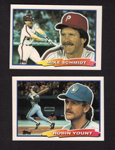 1988 Topps Big Baseball Cards Complete Set - 264 cards - NEAR MINT TO MINT - $9.95