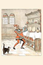 The Knave of Hearts he stole the tarts from the cupboard by Randolph Caldecott - - $19.99+