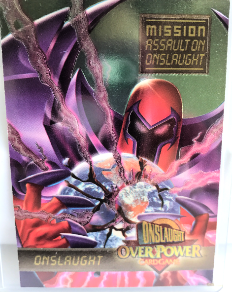Marvel Mission Assaulton Onslaught  Over PowerTrading Card New