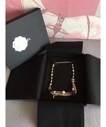 100% AUTHENTIC CHANEL CC LOGO MULTI CHAIN PEARL LONG NECKLACE GOLD LIMIT... - $1,499.99