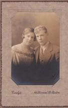 Male & Female Twins Cabinet Photo Boston MA - Sherwood & Shirley - $17.50