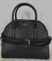 New Kate Spade new York Reiley Larchmont Avenue Leather handbag Black - $133.15