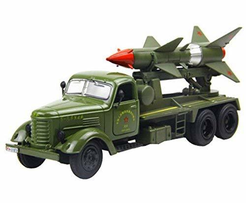 PANDA SUPERSTORE Creative Chinese Alloyed 1:36 Military Vehicle Model Toy Cars B