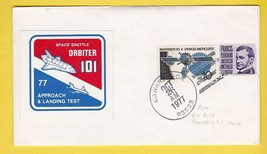 SPACE SHUTTLE ORBITER 101 APPROACH AND LANDING TEST EDWARDS CA 10/26/1977 - $1.78
