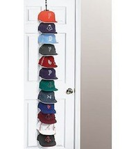 Cap Rack 36 System Hat Racks Organizer Hanger Over The Door Closet Baseb... - $44.60 CAD