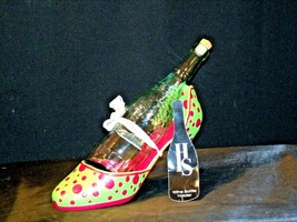 HS High Spirits Shoe and Bottle Display AA-191736 Vintage Collectible