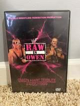 """WWF/WWE - """"Raw Is Owen"""" Special DVD - $28.00"""