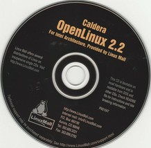 Caldera OpenLINUX 2.2 for Intel Architecture, provided by Linux Mail - $9.71