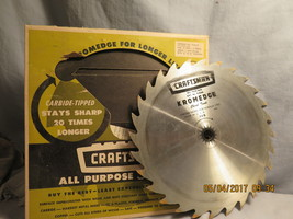 """Craftsman 9-32458 10"""" 8 Tooth Carbide-Tipped All Purpose Safe-Saw - $14.99"""