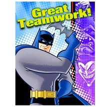 Batman Brave and The Bold Thank You Cards Birthday Party Supplies 8 Per Pack New - $3.91