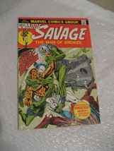DOC SAVAGE the man of bronze #4 VF-NM cond marvel comic book 1972 - $9.99